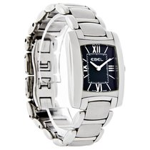 Ebel Brasilia Mini Ladies Black Stainless Steel Swiss Quartz...