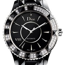 Dior VIII Automatic Diamond Black Ceramic