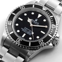 "Rolex SS 40mm No-Date Submariner ""4-Liner"" Bezel..."