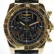 百年靈 (Breitling) Chronomat B01 Rosegold mit Box und Papieren...