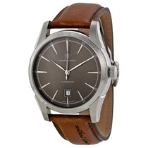 Hamilton Spirit of Liberty Automatic Grey Dial Brown Leather...