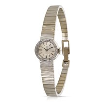 Omega Vintage 1960s EE8877 Ladies Watch in 14K White Gold