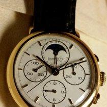 "Eberhard & Co. Le Chronograph"" – Very elegant gold..."