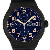 Zeno-Watch Basel Automatik Chronograph Titan PVD 46mm 1.758,- Neu