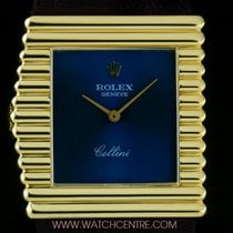 Rolex 18k Y/Gold Rare King Midas Left-Handed Cellini 4015