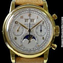 Patek Philippe 2499 Perpetual Calendar Chronograph Unpolished 18k