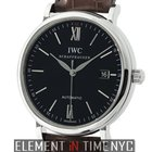 IWC Portofino Collection Stainless Steel 40mm Black Dial 2011...