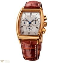 Breguet Heritage Chronograph 18k Yellow Gold Leather Men`s Watch