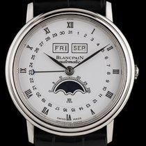 Blancpain Platinum Full Calendar Moonphase Villeret 6553-1127A-55