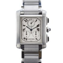 Cartier Tank Francaise Quartz Chronograph Date Mens watch...