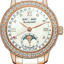 Blancpain Leman Ladies Moonphase & Complete Calendar 34mm...