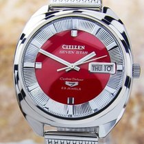 Citizen Seven Star Day Date Automatic Watch 1960s Scx324