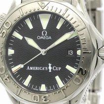 Omega Polished Omega Seamaster Professional 300m Americas Cup...