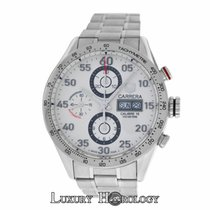 TAG Heuer Mint Authentic Men  Steel Automatic Chronograph