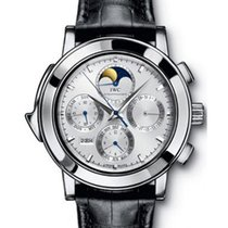 IWC 377013 Series Grande Complication - Platinum on Strap with...