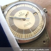 Omega Serviced Omega Geneve Dynamic with cream dial