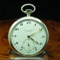IWC Schaffhausen 800 Silber Open Face Taschenuhr Von Ca. 1927...