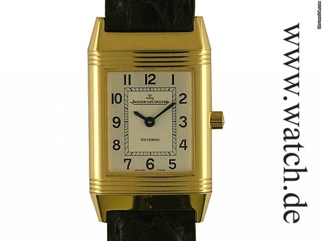 Jaeger-LeCoultre Reverso Dame kleines Modell Handaufzug 18kt Gelbgold 33x20mm