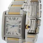 Cartier Tank Francaise 18k Gold & Steel Automatic Mens...