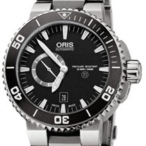 Oris Aquis Titan Small Second Ref. 01 743 7664 7154-07 8 26 75PEB