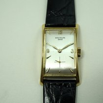 Patek Philippe 18k Hourglass ref.1593 dates 1940's