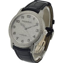 Audemars Piguet Jules Audemars in White Gold with Full Pave...
