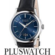 Gucci G-Timeless Automatic Blu Dial YA126443 T