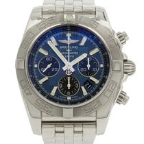 Breitling Chronomat 44 Stainless Steel Mens Watch 2014