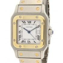 Cartier Santos 2961 Steel, Yellow Gold