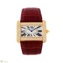 Cartier Tank Francaise 18K Yellow Gold Diamond Men's Watch