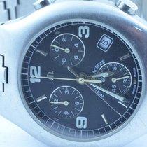 Maurice Lacroix Herren Uhr 40mm Stahl/stahl Quartz Mit Orig....