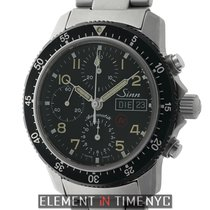 Sinn Pilot Chronograph Titanium 41mm Black Dial Automatic