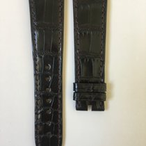 Chopard Shiny Black Alligator Strap 22 x 18 mm