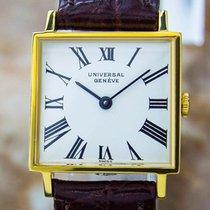 Universal Genève Gold Plated Manual Ladies Dress Watch Pb21