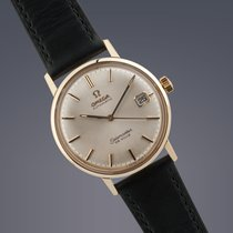 Omega Seamaster De Ville 18ct yellow gold automatic watch