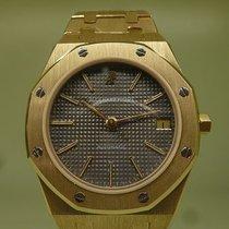 Audemars Piguet vintage ROYAL OAK mid size 37 mm Full gold ref...
