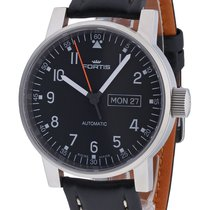 Fortis Spacematic Pilot Professional Day/Date Automatic...