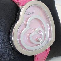 Chopard Happy Spirit Floating Hearts Diamond Pink Mop 18k W...