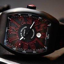 Franck Muller New Vanguard black and red