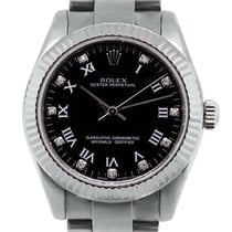 Rolex Oyster Perpetual 177234 Roman Diamond Dial Watch