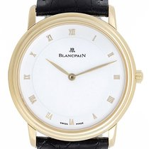 Blancpain Villeret Men's 18k Yellow Gold Automatic Winding...