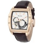 Bulova Men's Bulova Automatic Chronometer Rose Gold Tone...