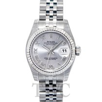 Rolex Lady Datejust Silver/Steel 26mm Jubilee - 179174