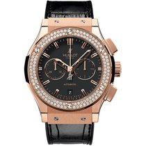 Hublot Classic Fusion Chronograph King Gold Diamonds 541.OX.11...