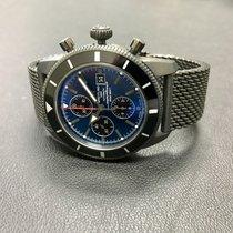 Breitling SuperOcean Heritage Chronograph BlackSteel Gun Blue