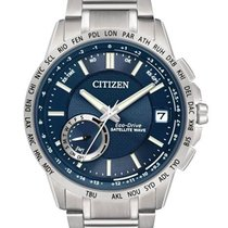 Citizen Mens Eco-Drive Satellite Wave F150 - Stainless Steel...