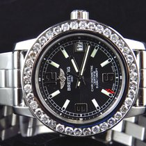 Breitling Ladies 2.5 Ct Diamond Breitling Aeromarine Colt 33...