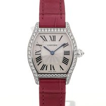Cartier Tortue White Gold Diamond Ladies