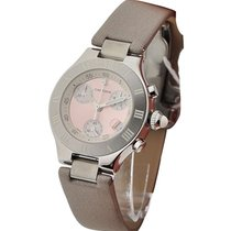 Cartier W1020012 Must 21 Chronoscaph Small Size - Steel with...