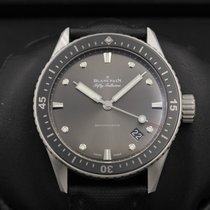 Blancpain Fifty Fathoms Bathyscaphe 5000-1110-b52a Stainless...